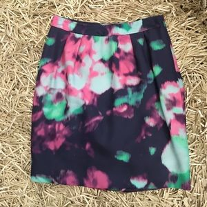 Kate Spade Floral Pencil Skirt